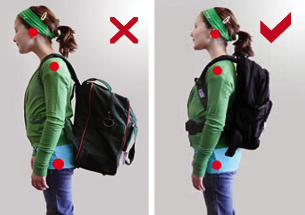 back pack and back pain
